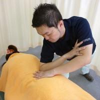 筋肉の調整(トリガーポイントセラピー)