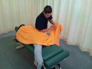 坐骨神経痛の施術