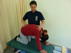 急性腰痛・ぎっくり腰の施術