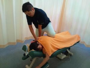 四十肩・五十肩・腕の痛みの施術